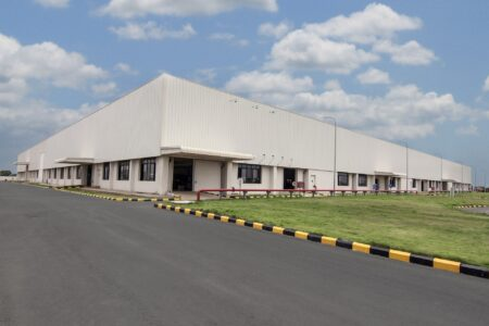Industrial building purchased with hard money loans in Houston